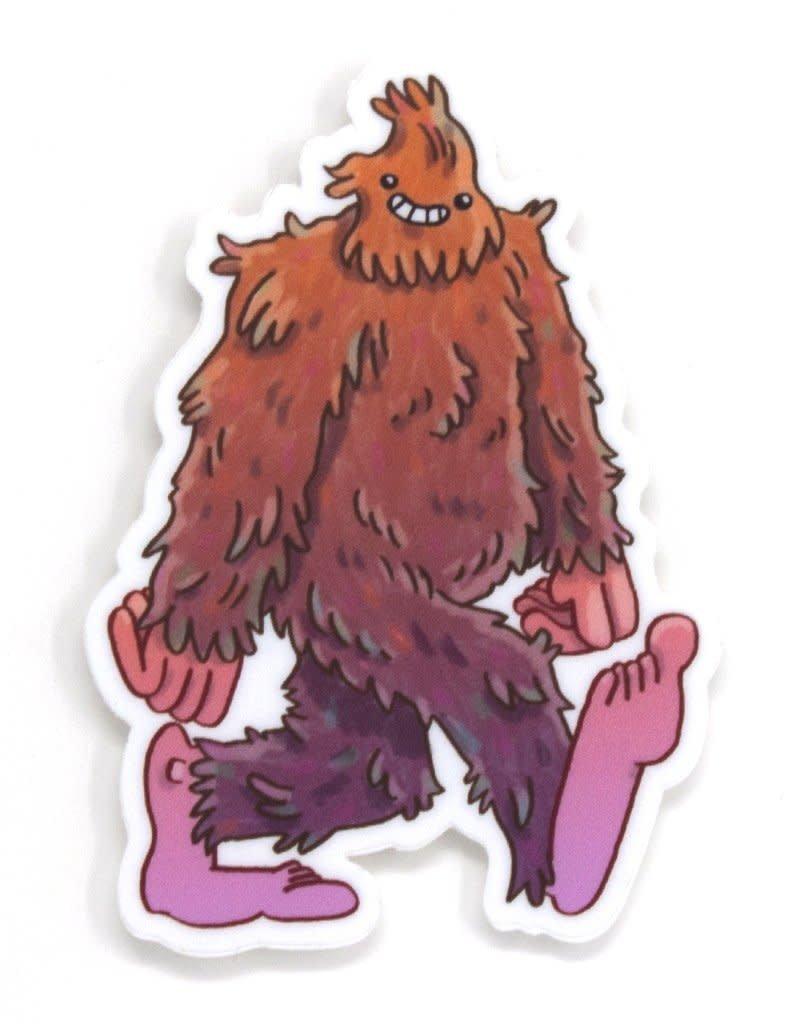 Cactus Club Sticker Bigfoot