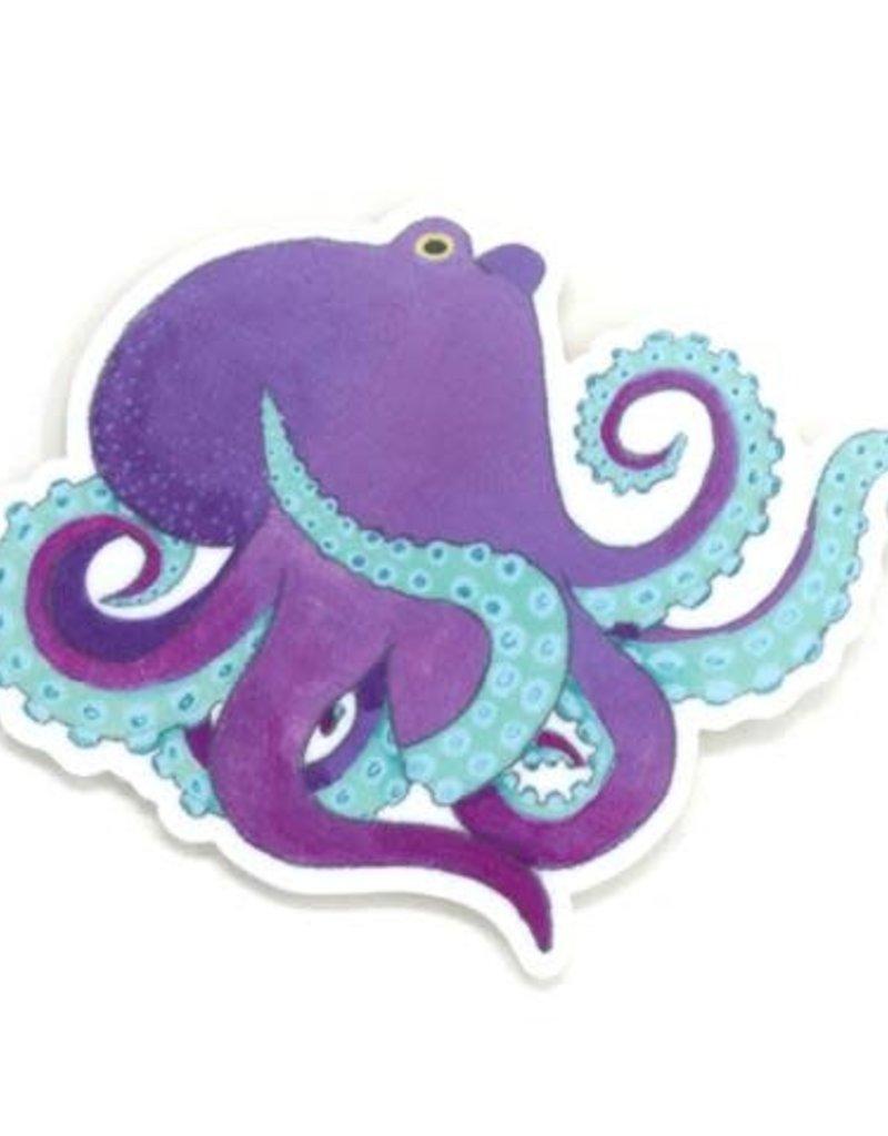 Cactus Club Sticker Octopus