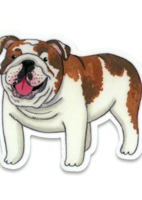 Cactus Club Sticker English Bulldog