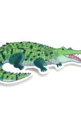 Cactus Club Sticker Crocodile