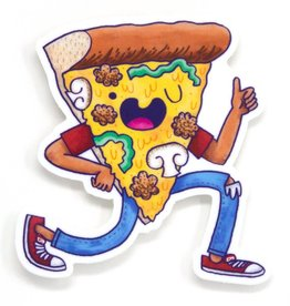 Cactus Club Sticker Pizza