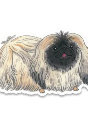 Cactus Club Sticker Pekinese