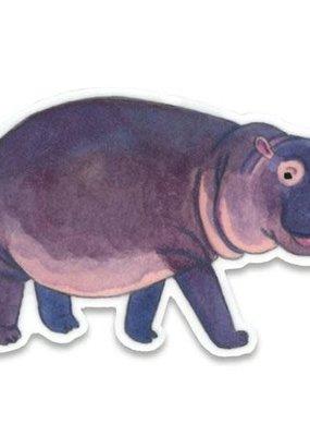 Cactus Club Sticker Hippo