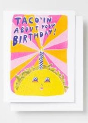 Yellow Owl Workshop Card Taco Birthday