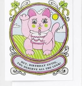 Yellow Owl Workshop Card Birthday Cutie