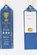 Yellow Owl Workshop Award Ribbon Note Father of the Year
