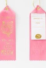 Yellow Owl Workshop Award Ribbon Note Official Cats Meow