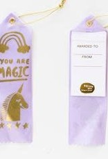 Yellow Owl Workshop Award Ribbon Note You are Magic Unicorn