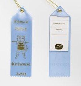 Yellow Owl Workshop Award Ribbon Note  Hanging Tough