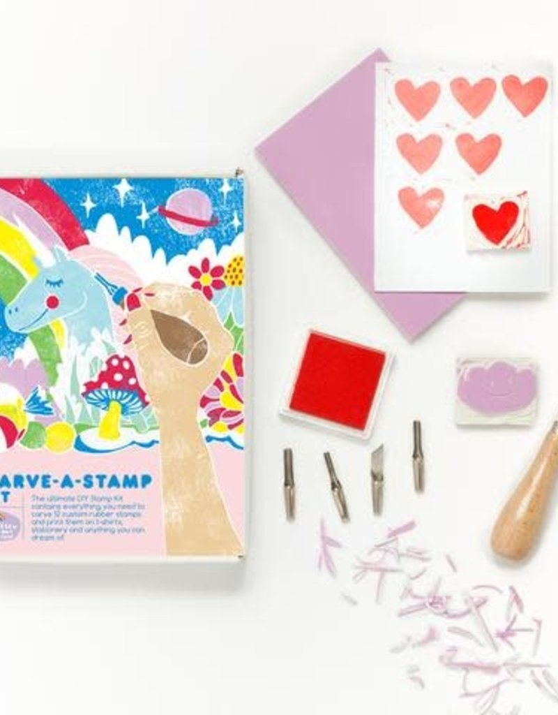 Yellow Owl Workshop Carve-a-Stamp Kit