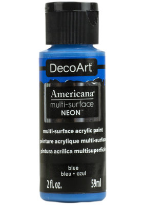 DecoArt Americana Multi-Surface Satin Acrylic Neon