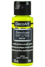 DecoArt Americana Multi-Surface Satin Acrylic Neon