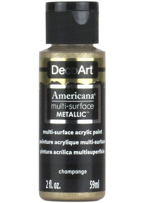 DecoArt Americana Multi-Surface Satin Acrylic Metallic