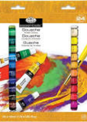 Royal Brush Gouache Artist Paint 24 Color Set 12 ml Tubes