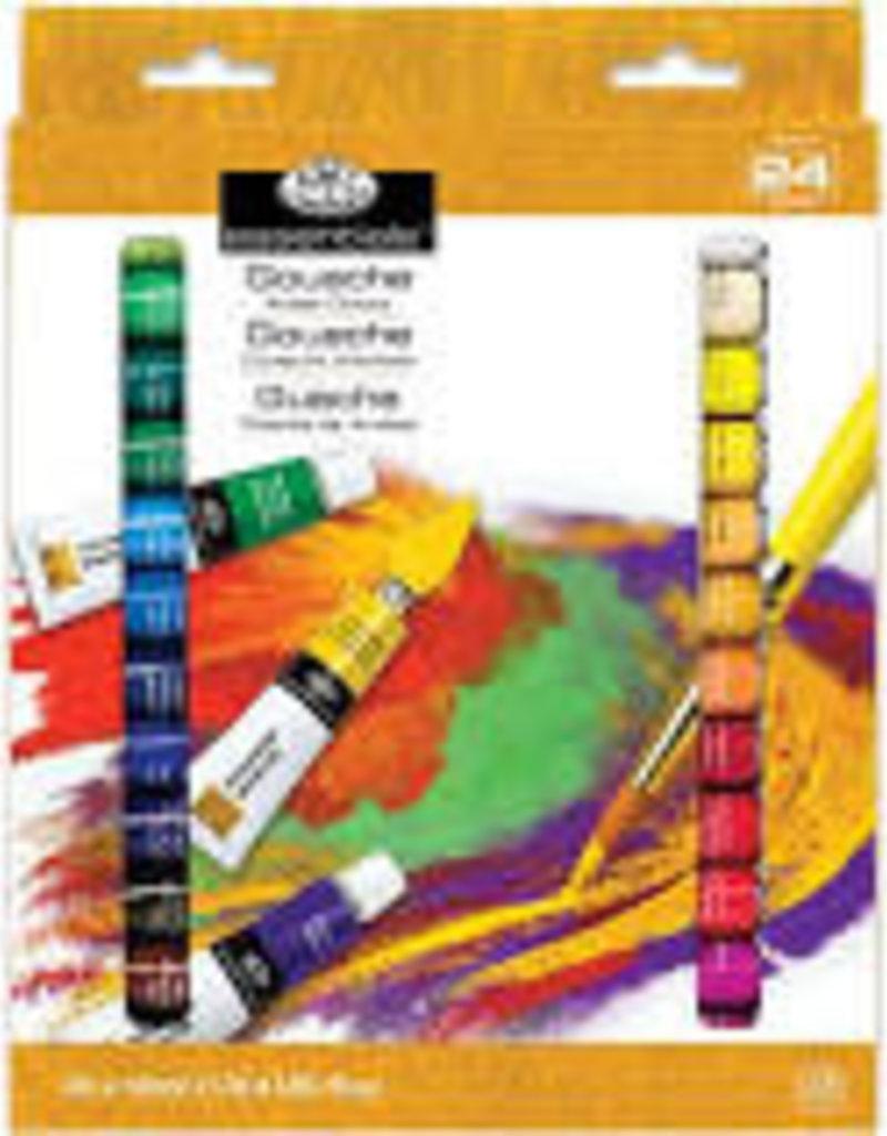 Royal Brush Gouache Artist Paint 24 Color Set 12 ml Tubes