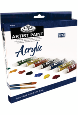 Royal Brush Acrylic Artist Paint 24 Color Set 12 ml Tubes
