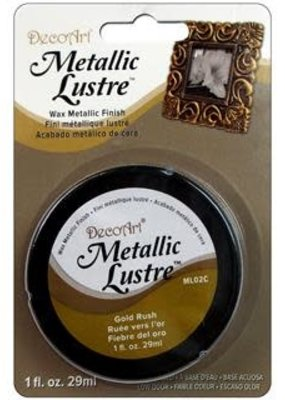 DecoArt Decoart Metallic Lustre 1 Ounce Gold Rush