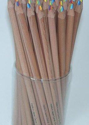 Rainbow Pencil Wood