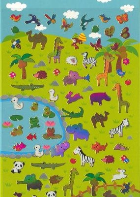 Sticker Safari Animals