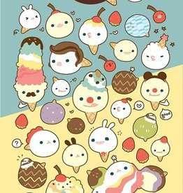 Sticker Ice Cream Cone