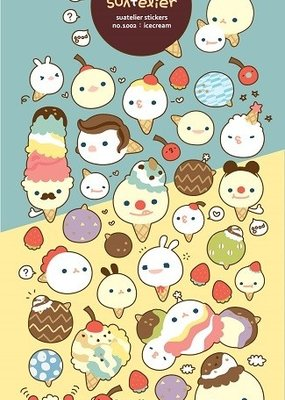 Sticker Ice Cream Cone