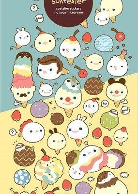 Suatelier Sticker Ice Cream Cone