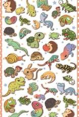 Sticker Reptile Puffy