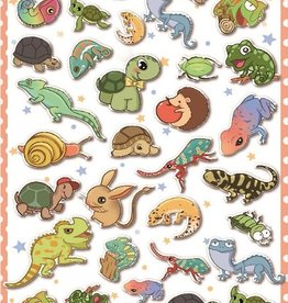 Sticker Reptile Puffy