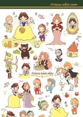 Sticker Snow White