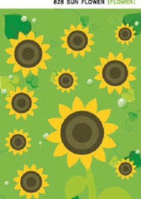 Sticker Sun Flower Felt