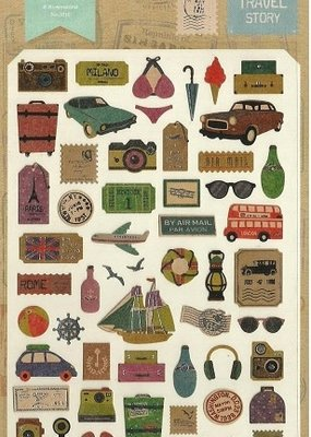 Travel Story Sticker