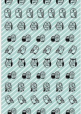 Sticker Owl Clear