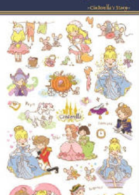 Sticker Cinderella