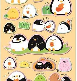 Sticker Kamio Penguin Puffy