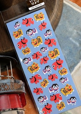 Japanese Toy Puppet Stickers