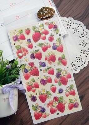 Sticker Strawberries