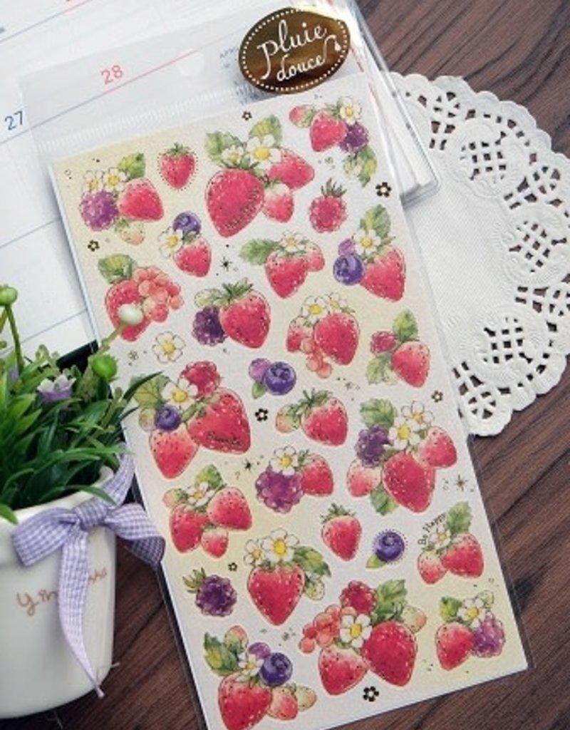 Sticker Strawberries