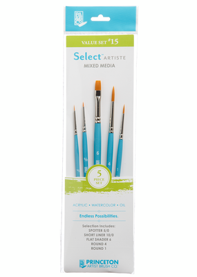 Princeton Art & Brush Co Select Artiste Brush Set #15