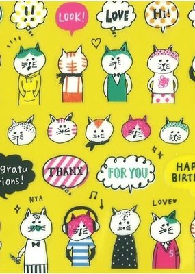 Sticker Cat Party