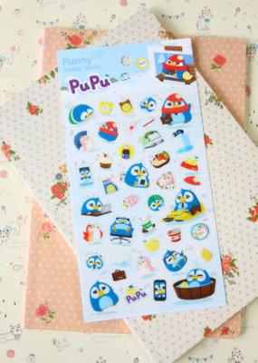 Sticker PuPu Penguin
