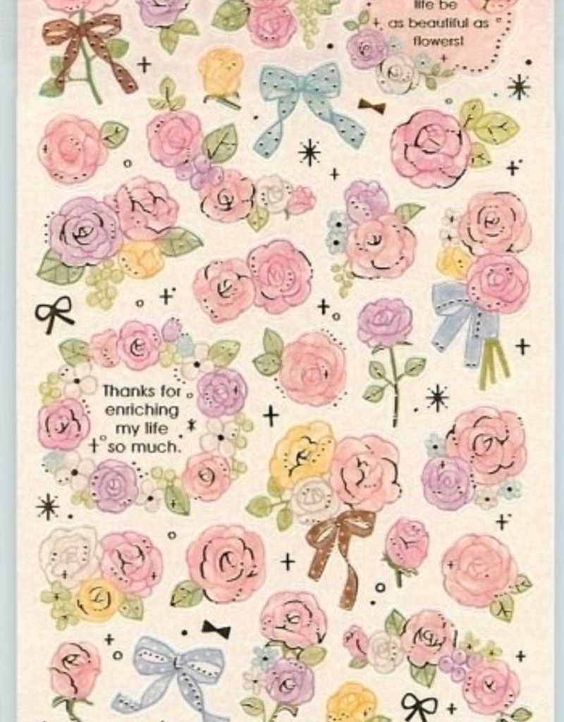 Stickers Roses