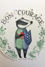 Marika Paz Sticker Bon Courage