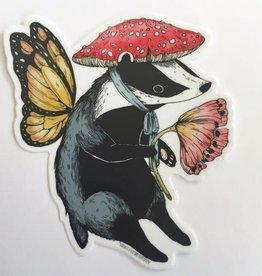 Marika Paz Sticker Badger Fairy