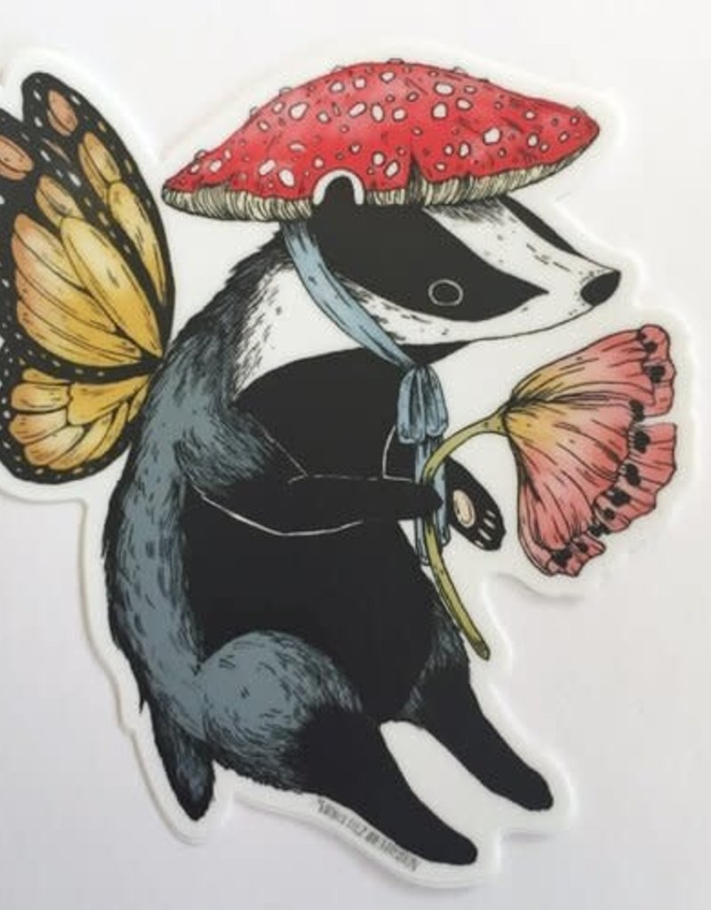 Marika Paz Sticker Badger Fairy
