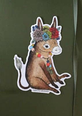 Marika Paz Sticker Burro