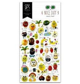 Sticker Nice Day Lovely Fruit
