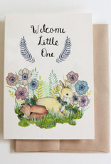 Marika Paz Card Welcome Little One