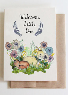 Marika Paz Card Welcome Little One