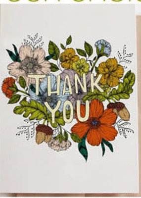 Marika Paz Card Thank You Floral