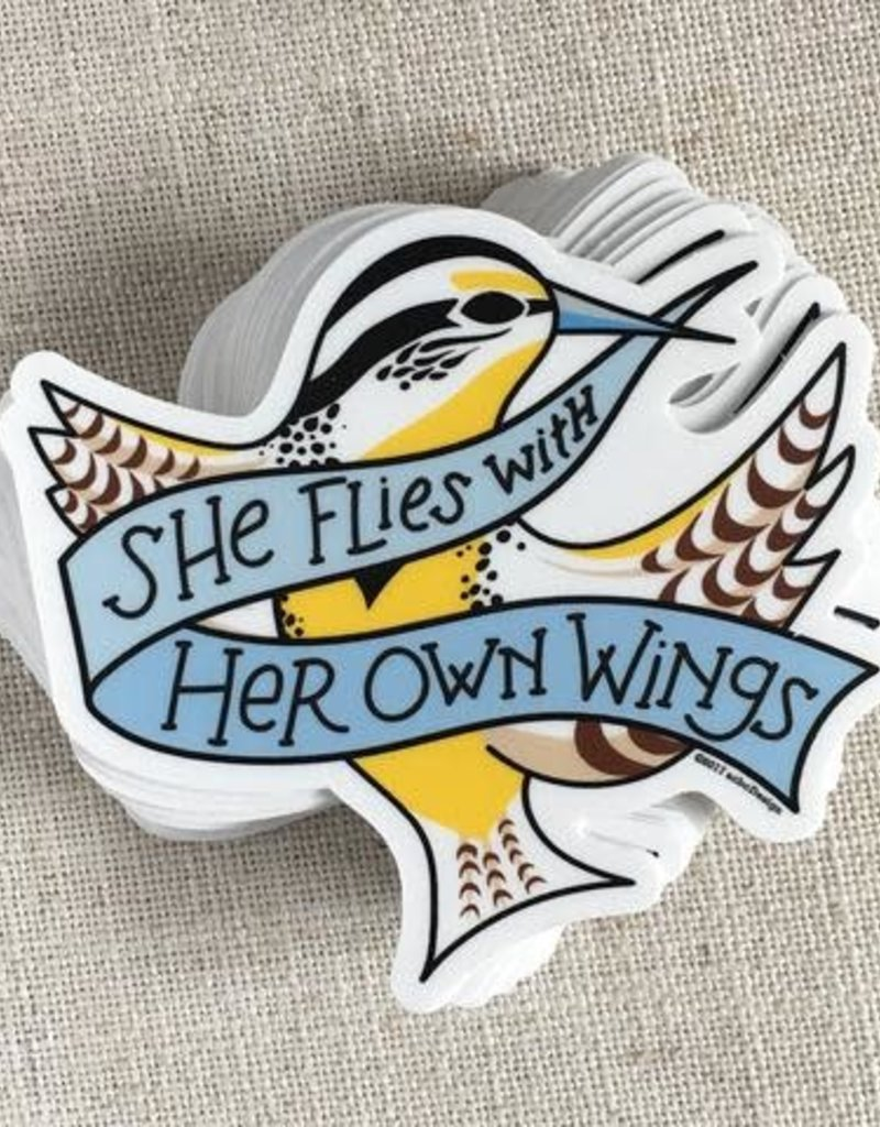 ACBC Sticker She Flies